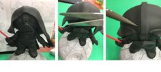 Darth Vader Tutorial with Saracino modelling paste, by Cakes By Samantha