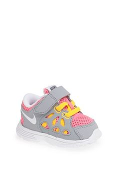 Nike 'Fusion Run' Athletic Shoe (Walker, Toddler & Little Kid) available at #Nordstrom