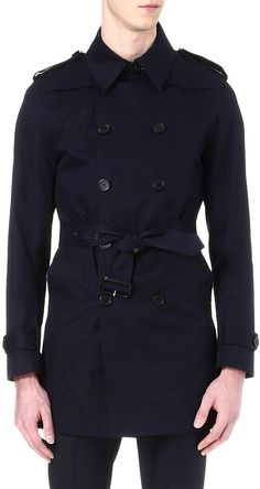 SANDRO Cotton trench coat