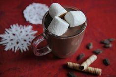 A Wintertime Staple  By Andrew Zimmern  This spiced Mexican-style hot chocolate is so easy to make at home
