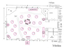 reception floor plan | inspiration board | Pinterest
