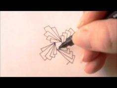 How to draw tanglepattern Biscus - YouTube It's actually a variation of Biscus.