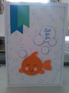 Just for you using cute fish from Miss K Cuttables.