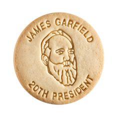 Dick & Jane Educational Snacks;  Presidential Edition;  James Abram Garfield,   20th President,   1881