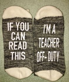 Off Duty, Drink Sleeves, Teacher, Reading, Crafts, Professor, Word Reading, Reading Books