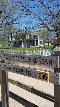 Railroad Town opens on Sunday.