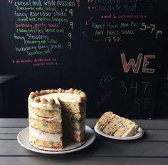 Beautiful fun cake