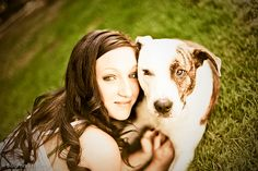 Senior Portrait Session with dogs