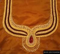 Maggam work blouse designs in hyderabad - Hyderabad