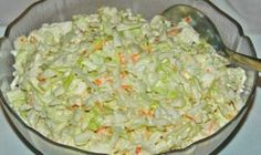 KFC Coleslaw is a five minute side dish you'll enjoy all summer long with your favorite chicken and more! KFC Coleslaw is one of my most personal childhood food memories. Low Carb Recipes, New Recipes, Dinner Recipes, Cooking Recipes, Easy Recipes, Healthy Recipes, Kfc Coleslaw, Coleslaw Recipes, A Food