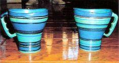 RARE Glidden Gulfstream Mugs