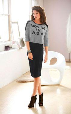 Laura Scott Sukňa Feminine Style, Dresses For Work, Shopping, Fashion, Moda, Fashion Styles, Fashion Illustrations