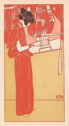 Gustav Klimt,Musik,1901