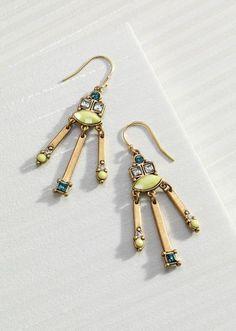 Neon Fringe Earrings