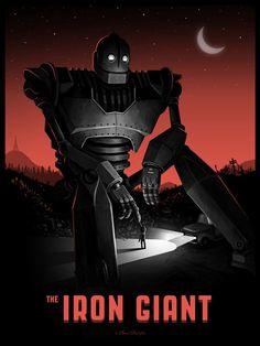 IRON GIANT Mondo PosterArt - News - GeekTyrant