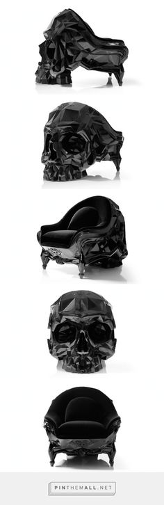 Skull Armchair by Ha
