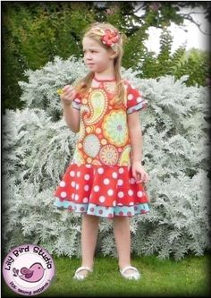 Download Lily's Dress PDF Sewing Pattern sizes 1 to10 years Sewing Pattern | Featured Products | YouCanMakeThis.com