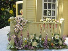 robin Carey blogspot.com | Dollhouses by Robin Carey: The Clematis Cottage Dollhouse