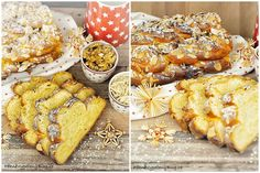 Babiččina vánočka, Granny's Christmas Cake www.peknevypecenyblog.cz Sweet Bread, Holiday Treats, Food Styling, Chicken Wings, French Toast, Food And Drink, Sweets, Cheese, Meat