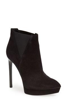 Saint Laurent 'Janis' Bootie (Women) available at #Nordstrom