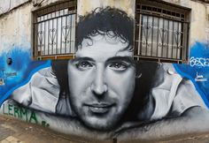 Buenos Aires, Argentina - Street Art & Graffiti – This is from the cool art district, Palermo Hollywood.. Although the street art and graffiti is not as abundant as say what I have seen in Brasil, it is still beautiful. What is more unique to Buenos Aires is the number of stores with colored facades or street art decorated store fronts. Original Photography by R. Stowe.