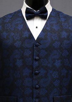 5de0c4410605 Navy Special Edition by Mel Howard #vest #wedding Shades Of Blue, Vest,