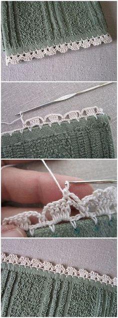 Garden Series Crochet Edgings - Jonquils