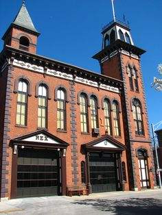 Rex/Laurel Firehouse in York County, Pennsylvania | Shared by LION