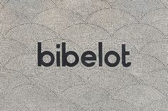 """Suzy Tuxen and Cassie Brock of A Friend of Mine (Victoria, Australia)・Interview Bibelot brand identity set in mosaic tile, 2015 [[MORE]]""""Wanting to marry branding, packaging and signage together to evoke a strong sense of place, we drew upon..."""