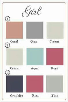 Baby Girl Nursery Colors  Coral Gray Cream And Pops Of Aqua! Part 98