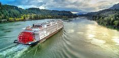 Enjoy the scenic rivers of America with a cruise from American Queen Steamboat Company. Call us direct for the best cruise deals at American River Cruises, Mississippi River Cruise, American Cruise Lines, Places To Travel, Places To Go, Cruise Planners, Packing List For Cruise, Best Cruise, Vacation Trips