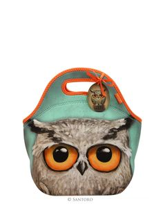 Book Owls Lunch Bag First Girl, Owls, Coin Purse, Lunch, Wallet, Purses, Products, Handbags, Owl