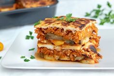 Fitness recepty s vysokým obsahom bielkovín Musaka, Lasagna, Sandwiches, Food And Drink, Low Carb, Vegan, Vegetables, Ethnic Recipes, Scrappy Quilts