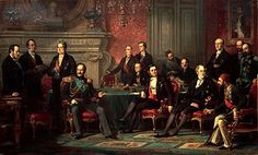 The 1856 Treaty of Paris settled the Crimean War between the the Russia Empire and an alliance made up of the Great Britain, the Ottoman Empire and the. Napoleon, Congress Of Vienna, Treaty Of Paris, Empire Ottoman, Famous Portraits, Crimean War, Oil On Canvas, Canvas Prints, Ideas