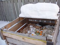 Nature Composting Composting in winter is possible! In fact it gives gardeners an opportunity to be kept busy besides the perks of a healthy garden with natural compost. Organic Compost, Organic Gardening, Sustainable Gardening, Texas Gardening, Growing Winter Vegetables, Winter Crops, Living Off The Land, Edible Plants, Water Conservation