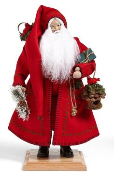 Lynn Haney 'Woodland Claus' Santa Figurine available at #Nordstrom