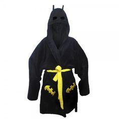 Batman Bathrobe. I want this!