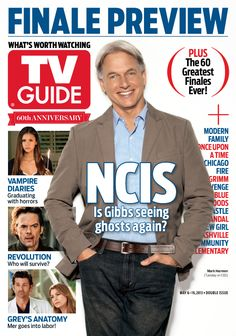 May 6/May 13, 2013. Finale Preview, featuring Mark Harmon of NCIS