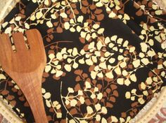Batik Dinner Napkins  Ginkgo Leaves by blackswansewing on Etsy, $20.00