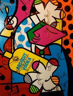 #RomeroBritto #Ad #Absolut