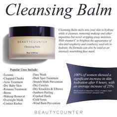 Cleansing Balm by Beautycounter www.beautycounter.com/adrianadidomenico
