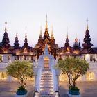Main Lobby of The Dhara Devi Hotel, Chiang Mai, Thailand. A piece of heaven on earth