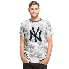 448e78b302a90 MLB New York Yankees  47 Aloha T-Shirt - Gray Mlb Yankees
