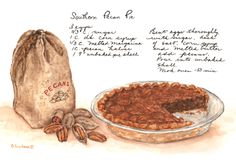 This is my mother's delicious Pecan Pie.