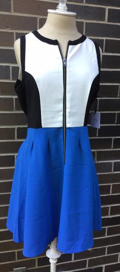 Wantable Style Edit Subscription Box Review – August 2015 Blue Dress