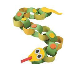 Snake+Paper+Chain+Craft+Kit+-+OrientalTrading.com