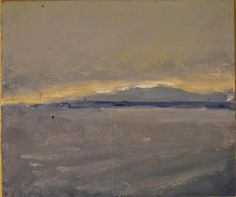 "Lake Champlain by Ian Costello Oil ~ 6"" x 7"""