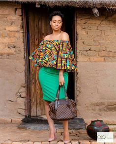 Trending Ankara Tops at the Moment Latest African Fashion Dresses, African Print Dresses, African Print Fashion, African Dress, African Prints, African Attire, African Wear, African Women, African Blouses