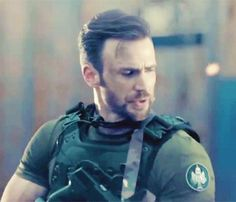 "petermaximoff: "" Call of Duty Online featuring Chris Evans (x) """