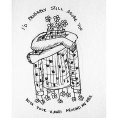 karim_nihan/2016/10/02 18:38:17/#inktober 2  505-Arctic Monkeys . . . #Inktober2016 #inktoberchallenge #inkdrawing #draw #drawing #sketch #sketchbook #art #artist #artsagram #arcticmonkeys #505 #alexturner #lineart #artsy #songs #lyrics #text #blackandwhite #illustration #illustrator #artistoninstagram